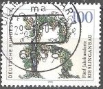 Sellos de Europa - Alemania -  Cinco siglos de cultivo de Riesling.