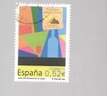 Sellos del Mundo : Europa : España : vinos con denominacion de origen