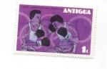 Sellos de America - Antigua y Barbuda -  boxeo