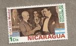 Stamps America - Nicaragua -  La copa mundial, momentos de gloria