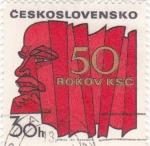 Stamps Czechoslovakia -  L E N I N