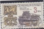 Sellos de Europa - Checoslovaquia -  C E R A M I C A