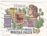 Sellos de Europa - Hungría -  DUNAKANYAR VISEGRAD