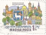 Stamps Hungary -  DUNAKANYAR SZENTENDRE