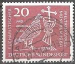 Sellos del Mundo : Europa : Andorra : Congreso Eucarístico en Munich en 1960.