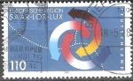 Sellos de Europa - Alemania -  Región Europea Saar-Lor-Lux.Emisión conjunta con Francia y Luxemburgo.