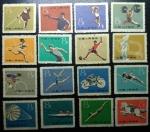 Sellos de Europa - Ucrania -  1959 Deportes de China