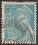 Sellos de Europa - Francia -  Mercurio - -Postes Françaises  1942  50 cents