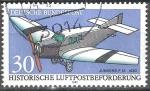 Sellos de Europa - Alemania -  Aviones de correo históricos. Junkers F-13, 1930.