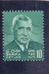 Stamps : Asia : Sri_Lanka :  Stephen Senanayake