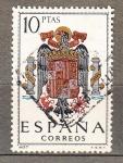 Sellos de Europa - España -  Escudo (873)