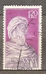 Sellos de Europa - España -  Averroes (918)