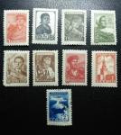 Sellos de Europa - Rusia -  1939-1957 USSR