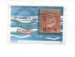 Sellos de Europa - España -  PRIMERA EMISION DE LOS SELLOS EN FILIPINAS