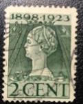 Sellos de Europa - Holanda -  Queen Wilhelmina 1898-1923