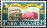 Sellos de Oceania - Nueva Zelanda -  de tren