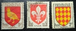 Sellos de Europa - Francia -  Republique Francaise 1954