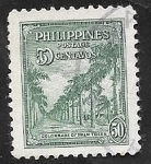 Stamps : America : Philippines :  Colonnade of PalmTrees