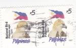Sellos del Mundo : Asia : Filipinas : A G U I L A