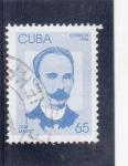 Sellos de America - Cuba -  JOSE MARTÍ