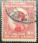 Sellos de Europa - Croacia -  1921