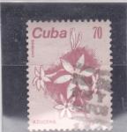 Sellos de America - Cuba -  FLOR-AZUCENA