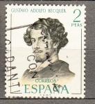Sellos de Europa - España -  Literatos (952)