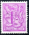 Stamps : Europe : Belgium :  BELGICA_SCOTT 968 LEON HERALDICO. $0,2
