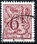 Stamps : Europe : Belgium :  BELGICA_SCOTT 976 LEON HERALDICO. $0,2