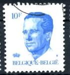 Sellos de Europa - Bélgica -  BELGICA_SCOTT 1089.02 REY BALDUINO. $0,2