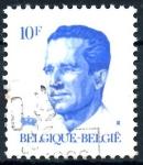 Stamps : Europe : Belgium :  BELGICA_SCOTT 1089.03 REY BALDUINO. $0,2