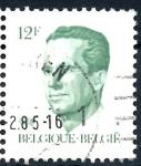 Stamps : Europe : Belgium :  BELGICA_SCOTT 1091.02 REY BALDUINO. $0,2