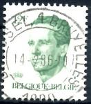 Stamps : Europe : Belgium :  BELGICA_SCOTT 1091.03 REY BALDUINO. $0,2