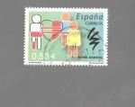 Sellos de Europa - España -  DONA SANGRE