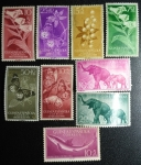Stamps Spain -  GUIMEA 1954-1958