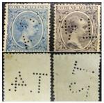 Sellos de Europa - España -  PERFETTO 1889