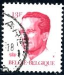 Stamps : Europe : Belgium :  BELGICA_SCOTT 1092.01 REY BALDUINO. $0,2