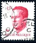 Stamps : Europe : Belgium :  BELGICA_SCOTT 1092.02 REY BALDUINO. $0,2