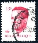 Stamps Belgium -  BELGICA_SCOTT 1092.03 REY BALDUINO. $0,2