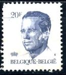 Stamps : Europe : Belgium :  BELGICA_SCOTT 1094.01 REY BALDUINO. $0,2