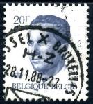 Stamps : Europe : Belgium :  BELGICA_SCOTT 1094.03 REY BALDUINO. $0,2