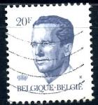 Stamps : Europe : Belgium :  BELGICA_SCOTT 1094.04 REY BALDUINO. $0,2