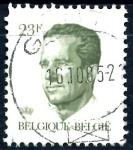 Stamps : Europe : Belgium :  BELGICA_SCOTT 1096.02 REY BALDUINO. $0,3