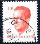 Stamps : Europe : Belgium :  BELGICA_SCOTT 1098.02 REY BALDUINO. $0,2