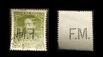 Sellos de Europa - Austria -  PERFIN 1908