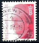 Stamps : Europe : Belgium :  BELGICA_SCOTT 1365 REY BALDUINO. $0,2
