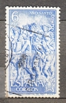 Sellos de Europa - España -  Año Compostelano (962)