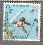 Sellos de Europa - España -  Gimnasia Masculina(968)