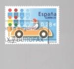 Sellos de Europa - España -  SEGURIDAD VIAL