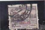Stamps Pakistan -  JARDINES DE SHALIMAR EN LAHURE-service